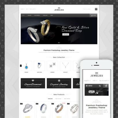 Jewelies - Jewelry Store Prestashop Theme