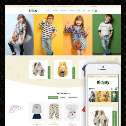 Kidpay - Kids Store Prestashop Theme