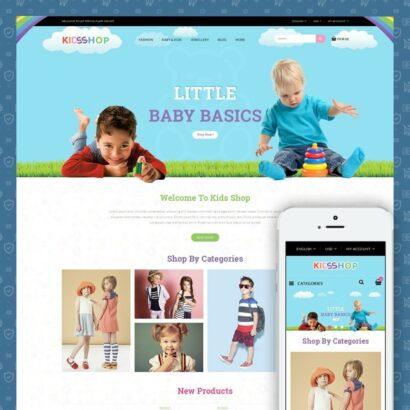 Kids Shop Prestashop Theme