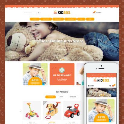 KidZeel - Toys Store Prestashop Theme