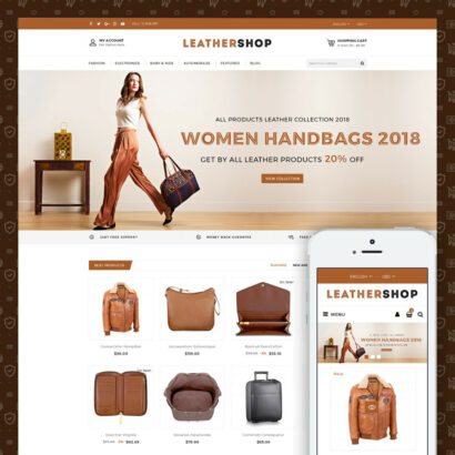 Leather Store Prestashop Theme
