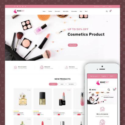 Make Kit - Beauty Store Prestashop Theme