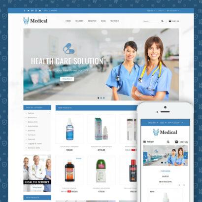 Medical Store Prestashop Theme