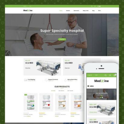 Medxine - Medical Store Prestashop Theme