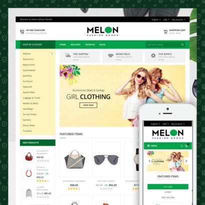 Melon - Fashion Store Prestashop Theme