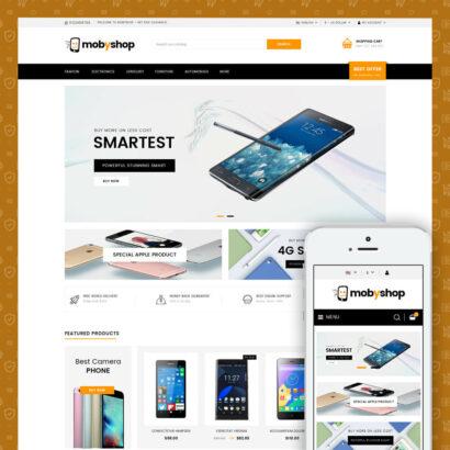 Mobyshop - Online Mobile Store Prestashop Theme