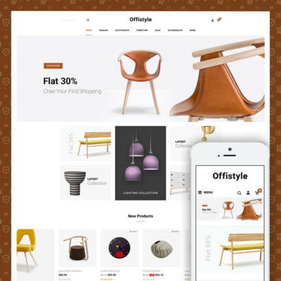 Offistyle - Modern Furniture Store Prestashop Theme