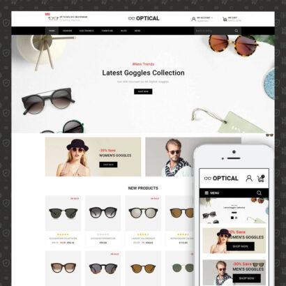 Optical - Goggles Store Prestashop Theme