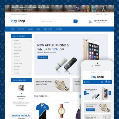 PlayShop - Multipurpose Store Prestashop Theme