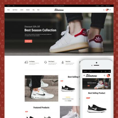 Shoerow - Shoes Store Prestashop Theme