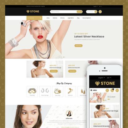Stone - Jewelry Store Prestashop Theme
