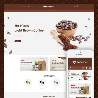 The Coffee Shop Prestashop Theme