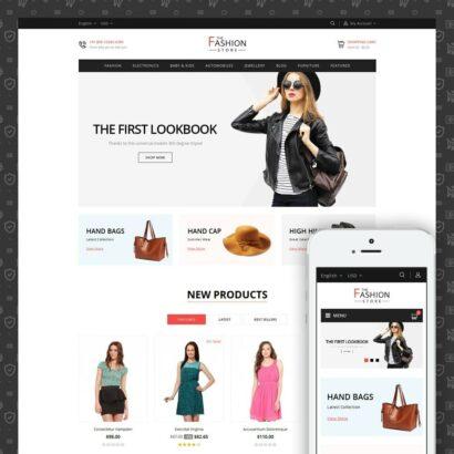 The Fashion Store Prestashop Theme