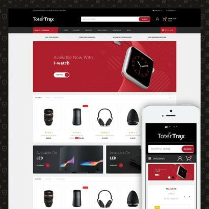 ToterTrax - Electronics Store Prestashop Theme