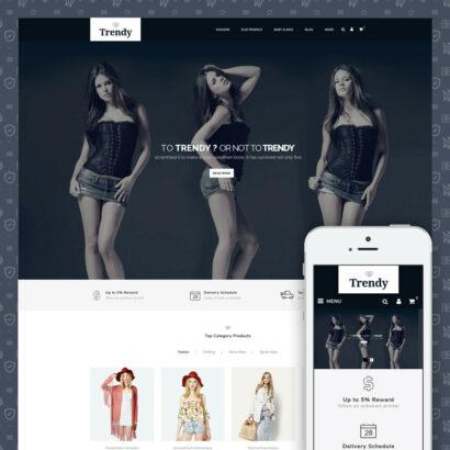 Trendy - Online Fashion Store Prestashop Theme