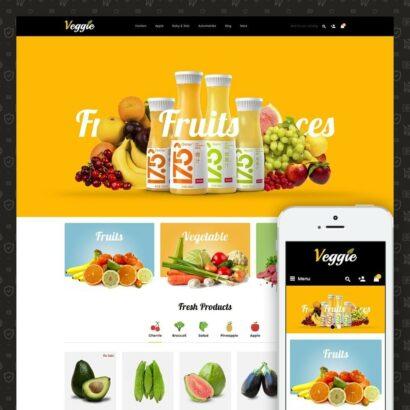 Veggie - Organic Store Prestashop Theme