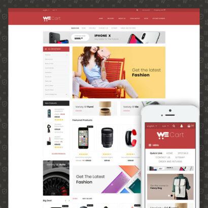 WeCart Multipurpose Store Prestashop Theme