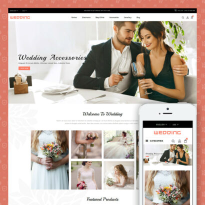 Wedding Collection Store Prestashop Theme
