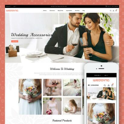 Wedding Collection Store Prestashop Theme