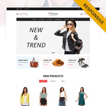 The Fashion - Minimal Store OpenCart Theme