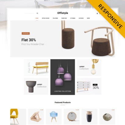 Offistyle - Furniture Shop OpenCart Theme