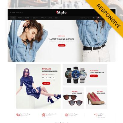 Style Fashion Store OpenCart Theme