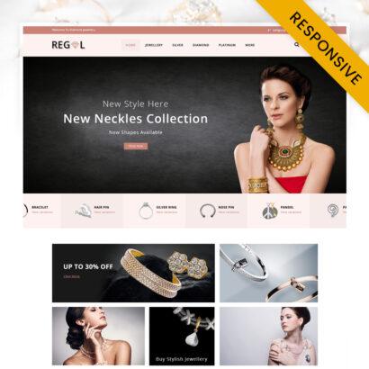 Regal Jewel Store OpenCart Theme