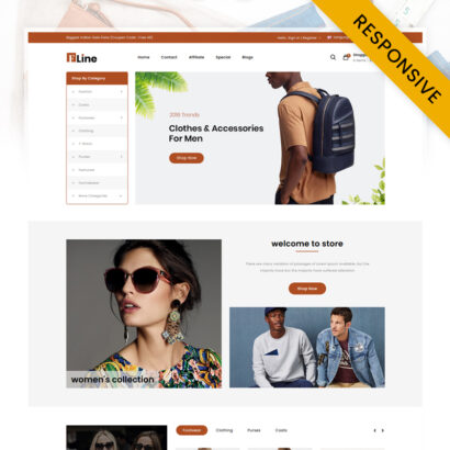 FLine - Fashion Store OpenCart Theme