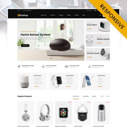 Eloshop - Electronics Shop OpenCart Theme