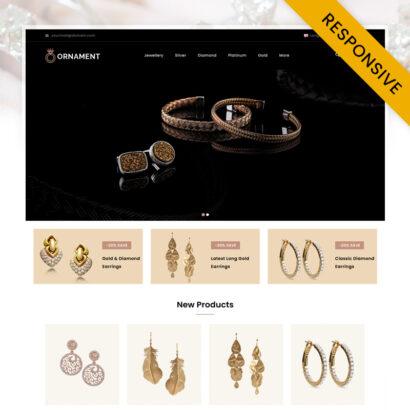 Onmart - Jewelery Store OpenCart Theme