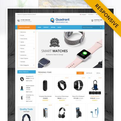 Quadrant - Electronics Store OpenCart Theme