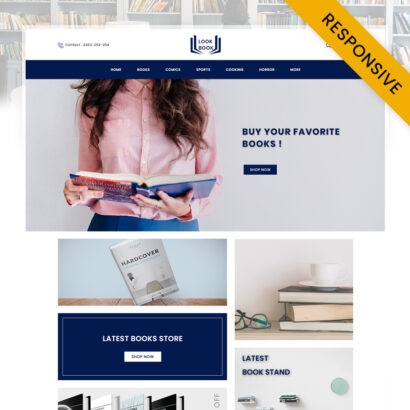 Look Book Store OpenCart Theme