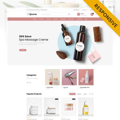 Spazone - Massage Parlour OpenCart Theme