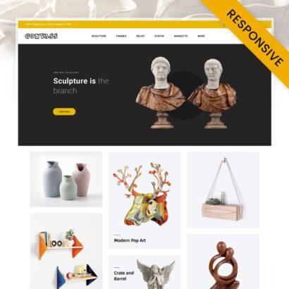 Convass - Art Gallery Store OpenCart Theme