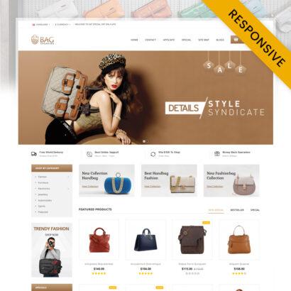 Bag Shop OpenCart Theme