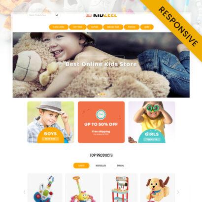 KidZeel - Toys Store OpenCart Theme