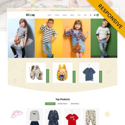 Kidpay - Kids Store OpenCart Theme