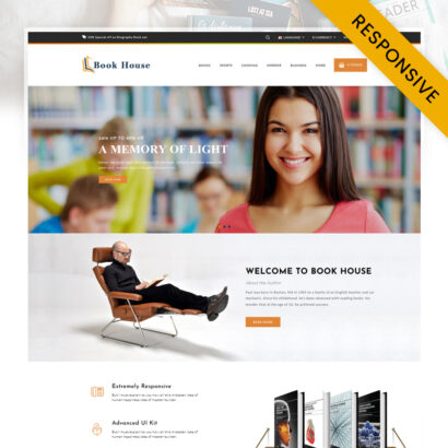 Book House OpenCart Theme