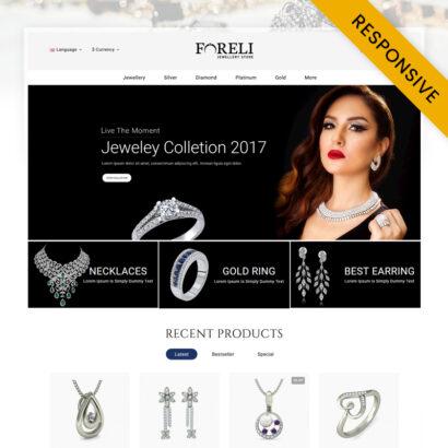 Foreli - Jewelry Store OpenCart Theme