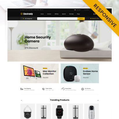 Electronly - Digital Store OpenCart Theme