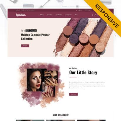 LookLike - Cosmetics Store OpenCart Theme