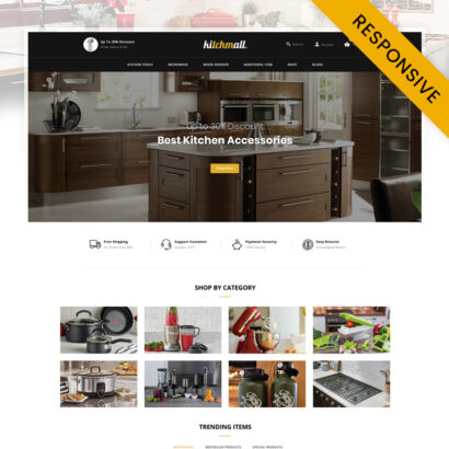 Kitchmall - Kitchen Store OpenCart Theme