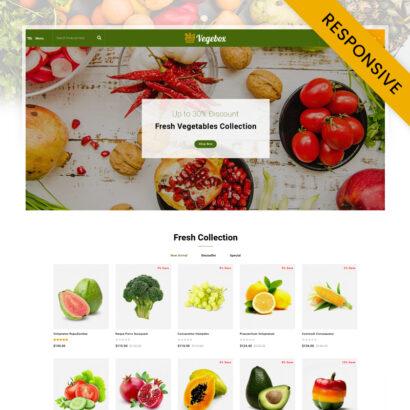 Vegebox - Fresh Vegetables Store OpenCart Theme