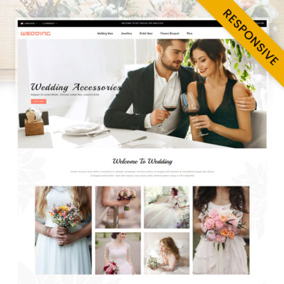 Wedding Collection Store OpenCart Theme