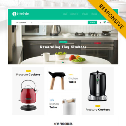 Kitchio - Kitchen Store OpenCart Theme