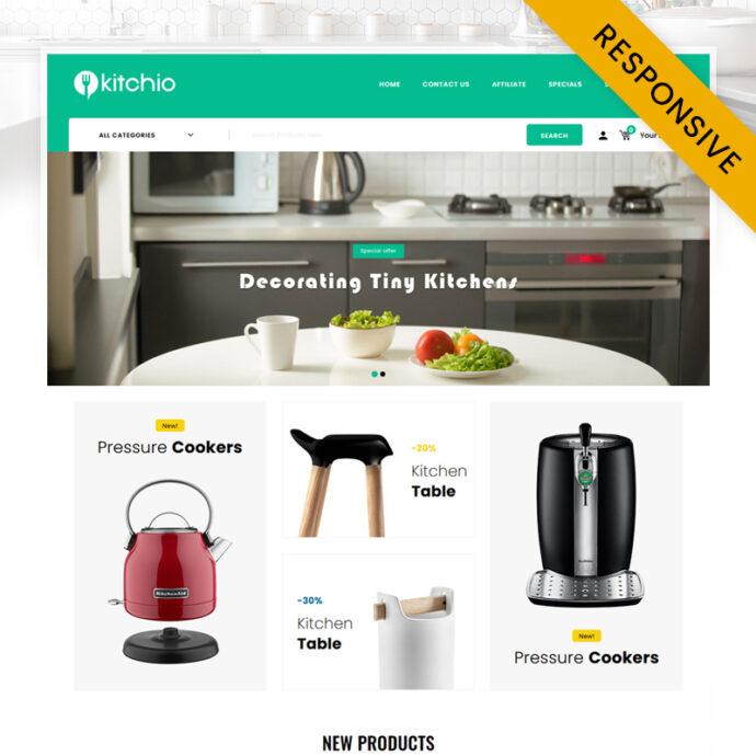 Kitchio - Kitchen Store OpenCart Theme