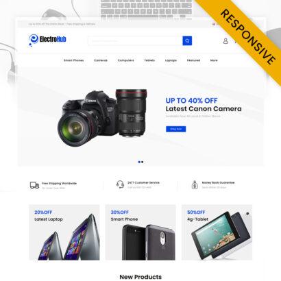 ElectroHub - Digital Store OpenCart Theme
