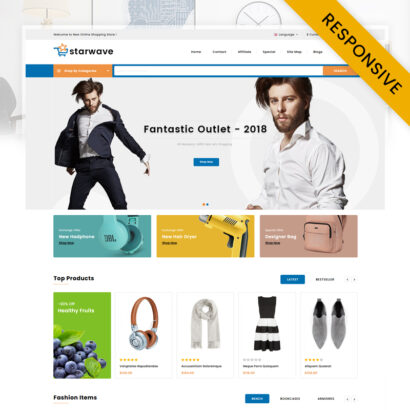 Starwave - Multipurpose Store OpenCart Theme
