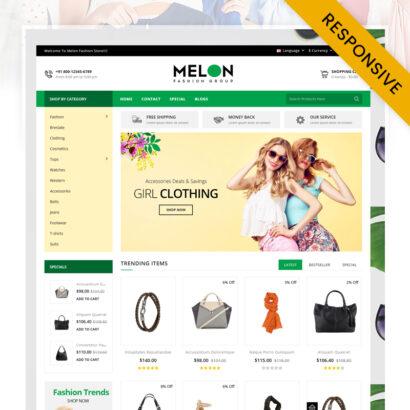 Melon - Fashion Store OpenCart Theme