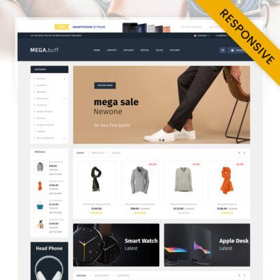 Mega Buff - Multipurpose store OpenCart Theme